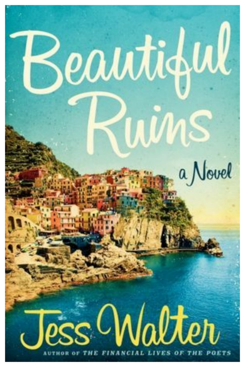 """Nomad Luxuries inspiration for the weekend with the cover of """"Beautiful Ruins"""" by Jess Walter."""