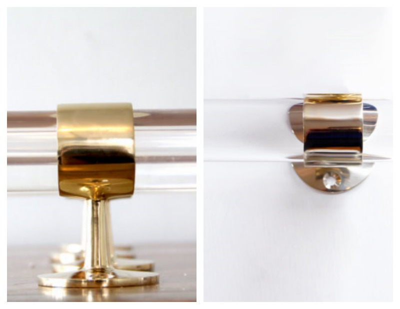 brass and lucite 800