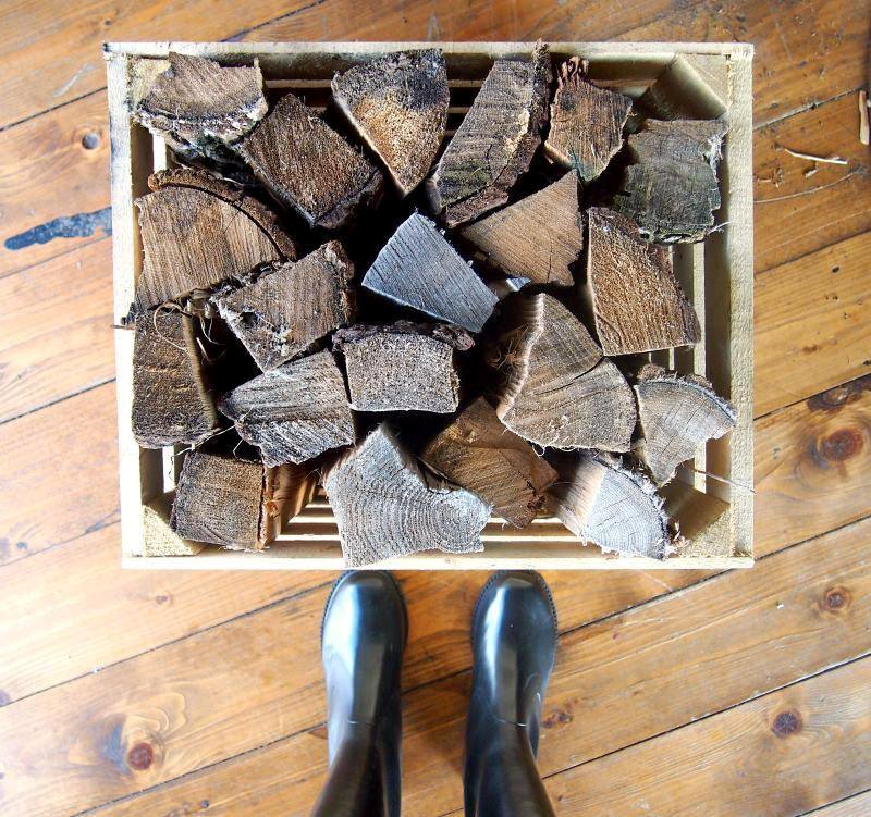 wood and wellies