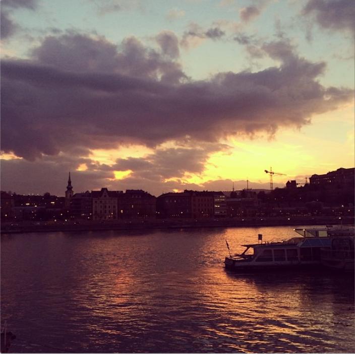 sunset buda