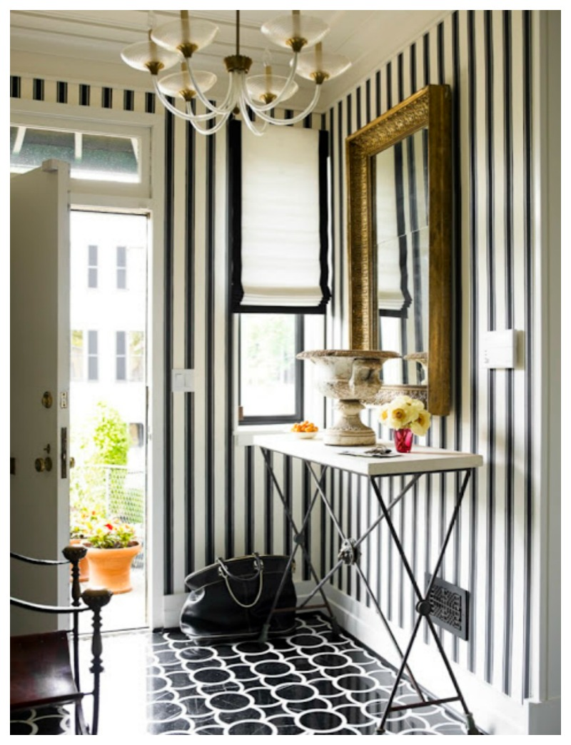 striped foyer 800