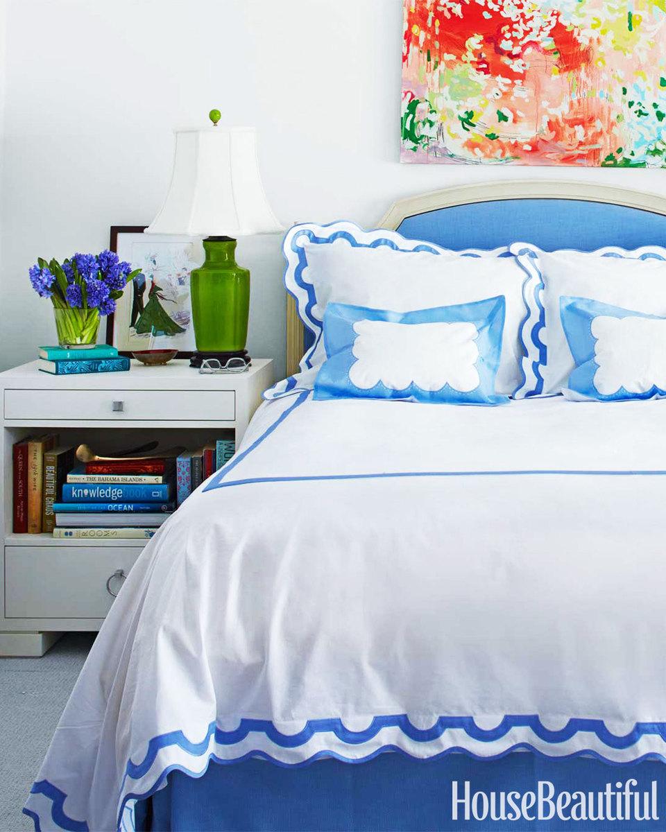 blue bedroom 20s