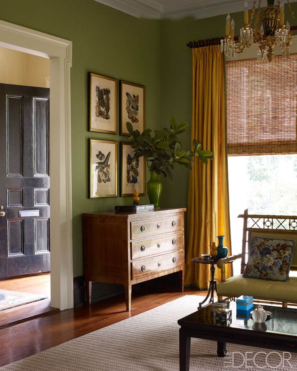 Olive Green Wall: Olive Green - Nomad Luxuries