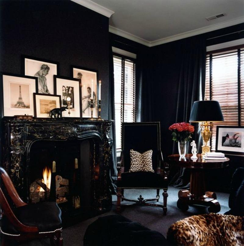 dark fireplace 800