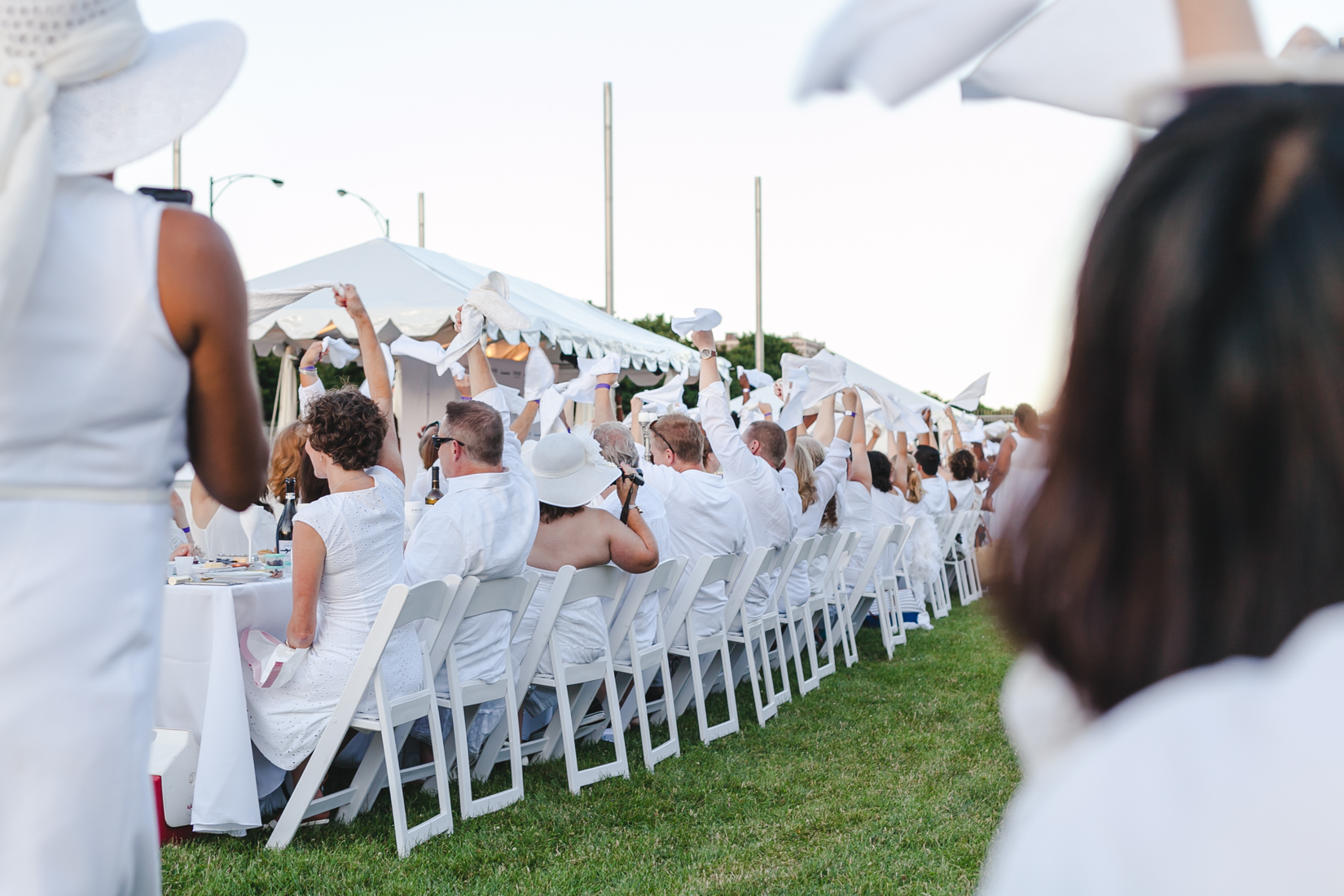 Yana Puaca from NoMad Luxuries Birthday Celebrations Chicago in White Event