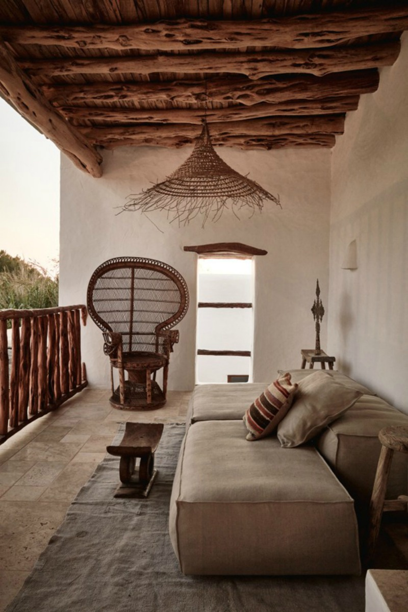 NoMad Luxuries a rustic chic home tour in ibiza