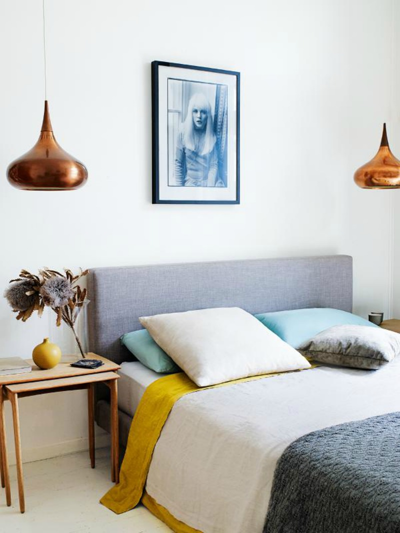 NoMad Luxuries Sunday Pairings minimalist bedrooms with warm copper tones
