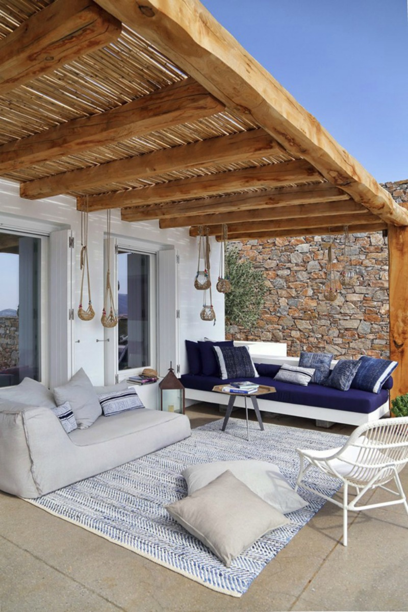 NoMad Luxuries Home Tour Minimal in Greece with views of the sea