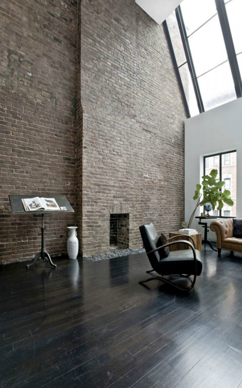 NoMad Luxuries home tour converted school in New York minimal and monochromatic