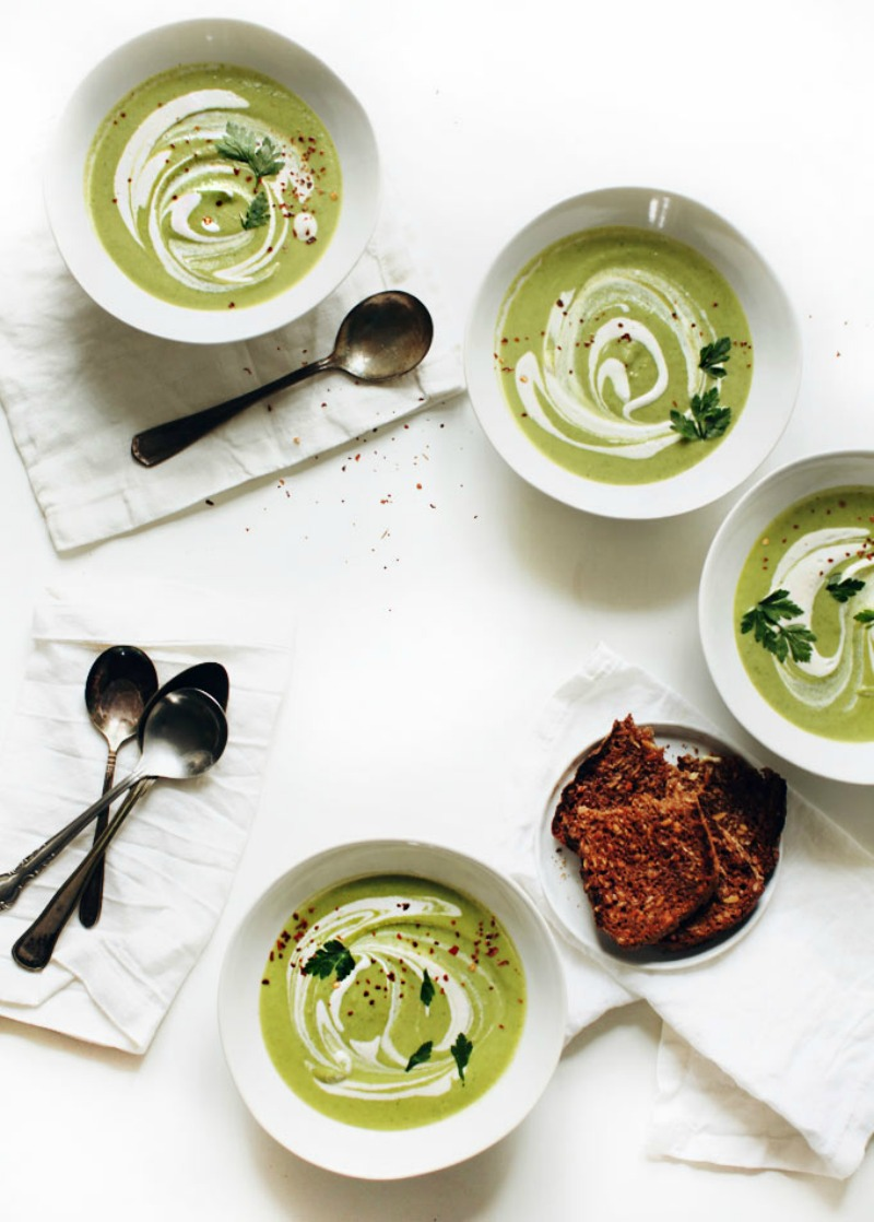 NoMad Luxuries Broccoli and Cashew Soup