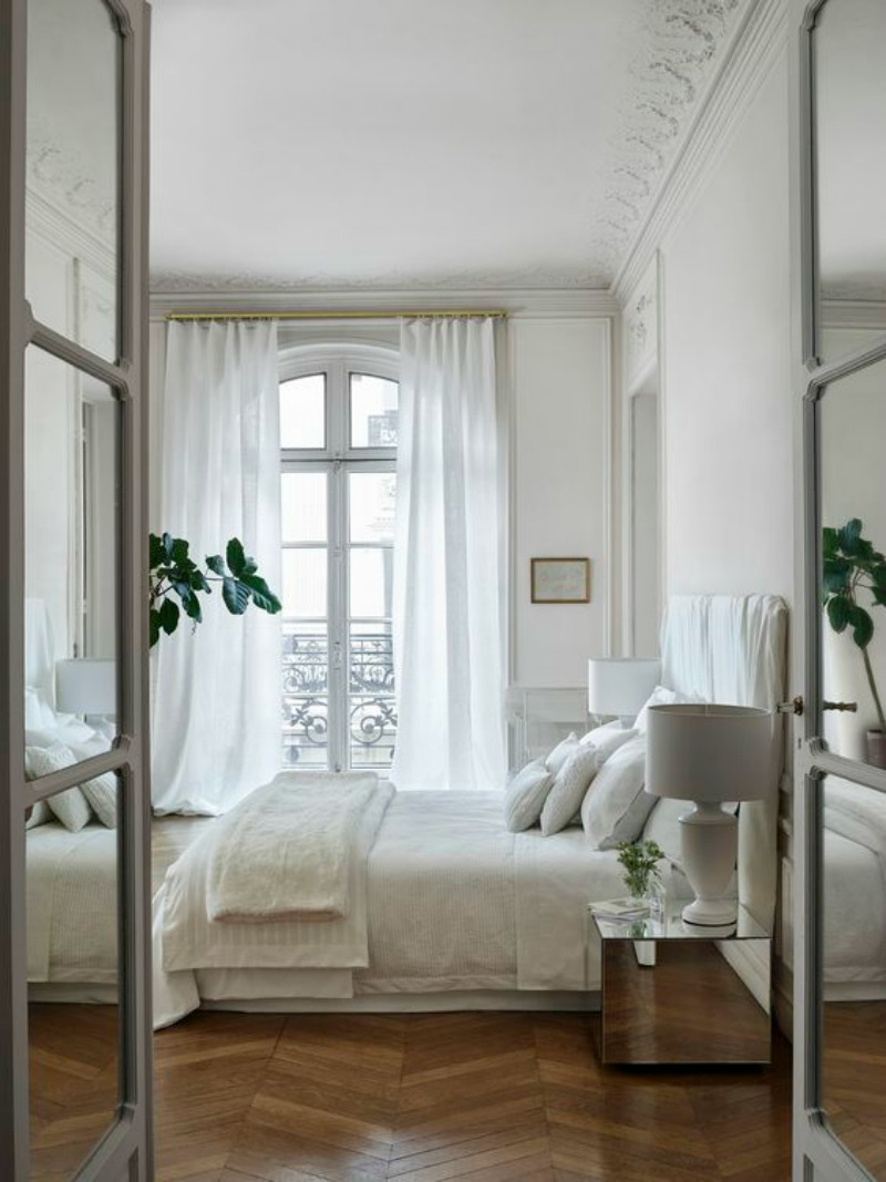 NoMad Luxuries Bright white bedroom design inspiration for the Weekend