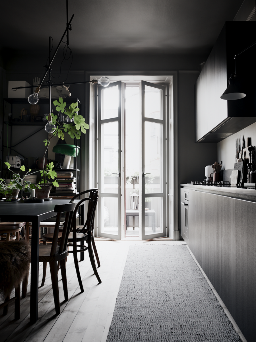 NoMad Luxuries dark and moody Home Tour from interior designer lotta agaton