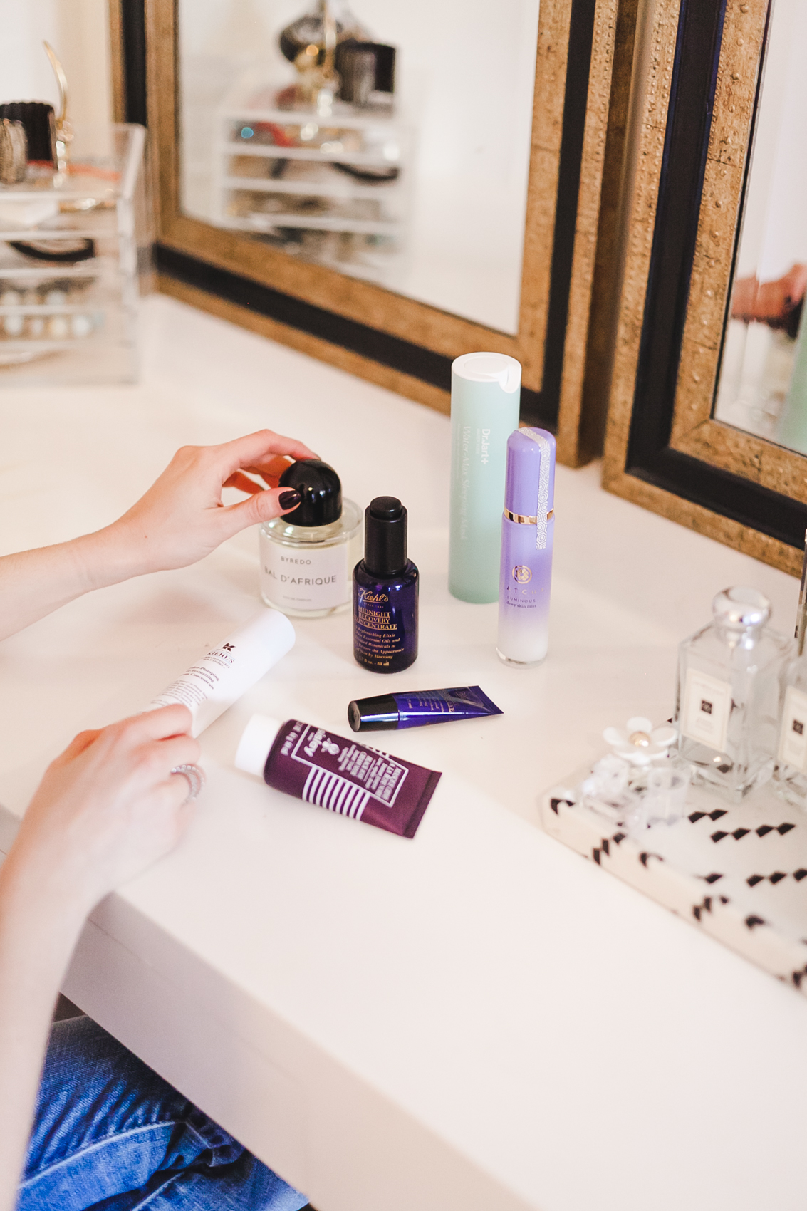 Yana Frigelis of NoMad Luxuries winter beauty essentials skin care routine