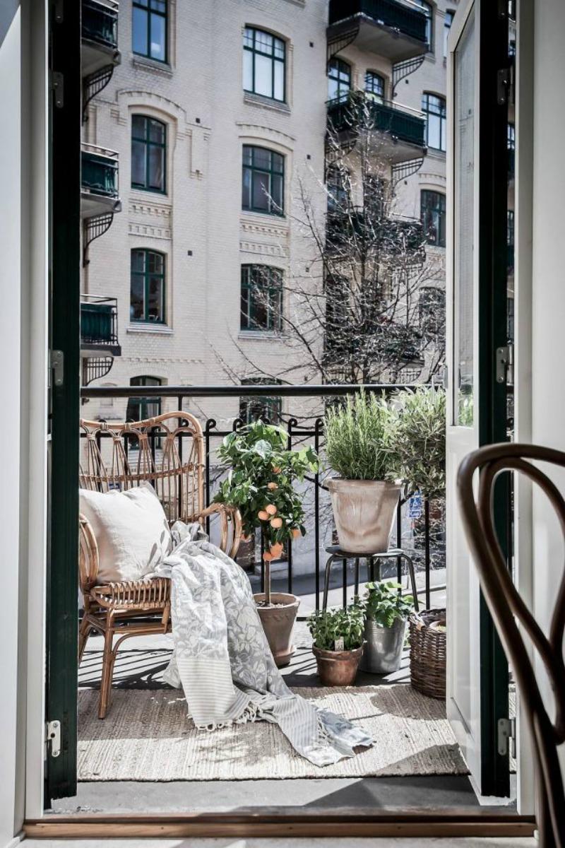 Small Apartment Patio