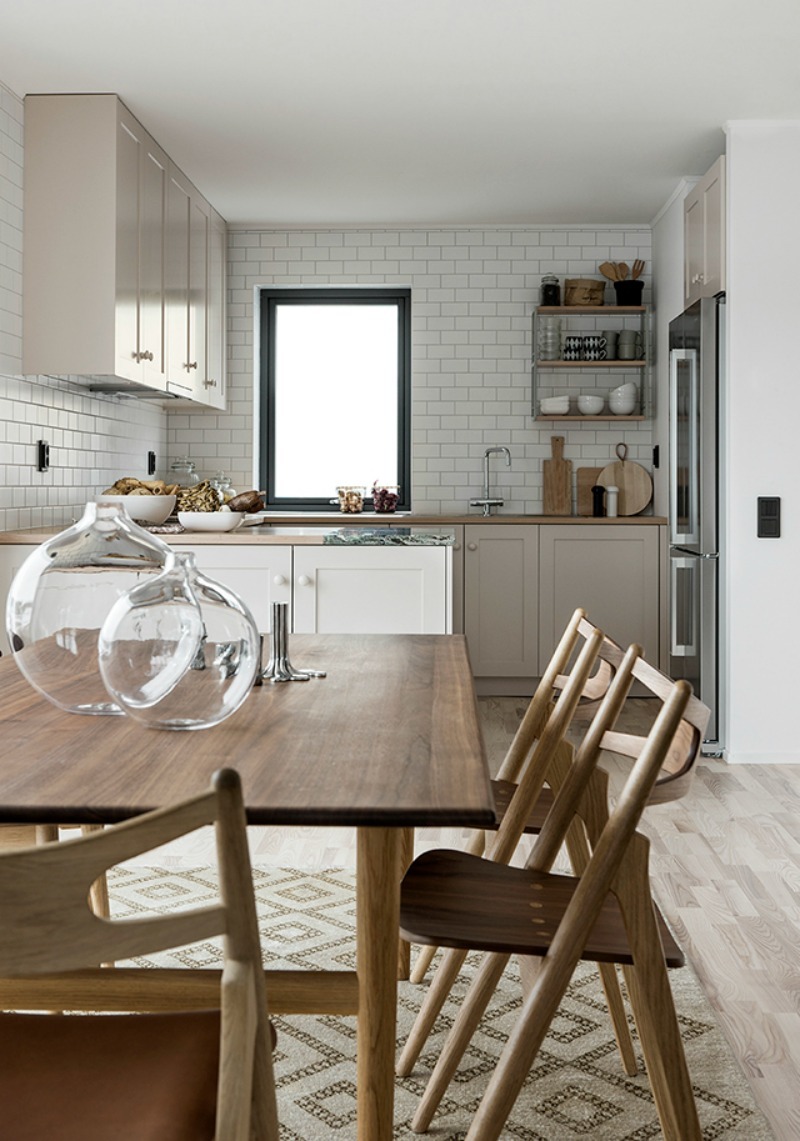 NoMad Luxuries inspiration for sunday pairings in this minimal and neutral kitchen