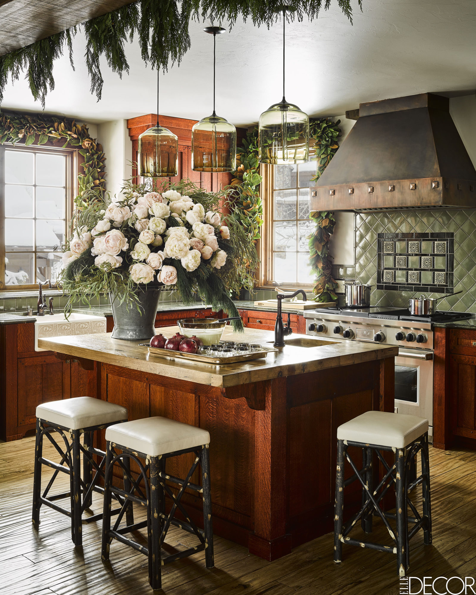 NoMad Luxuries Winter Holiday Cabin Home Tour and Interior Inspiration
