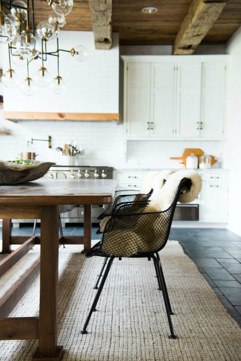 NoMad Luxuries farmhouse kitchen inspiration neutral