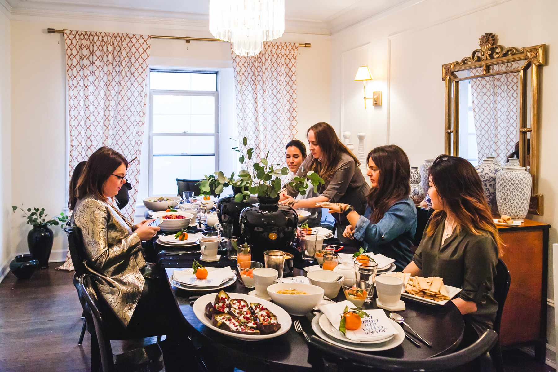 NoMad Luxuries hosts a blogger brunch inspired Mediterranean menu for networking in chicago