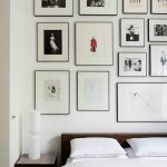 bedroom gallery wall 800