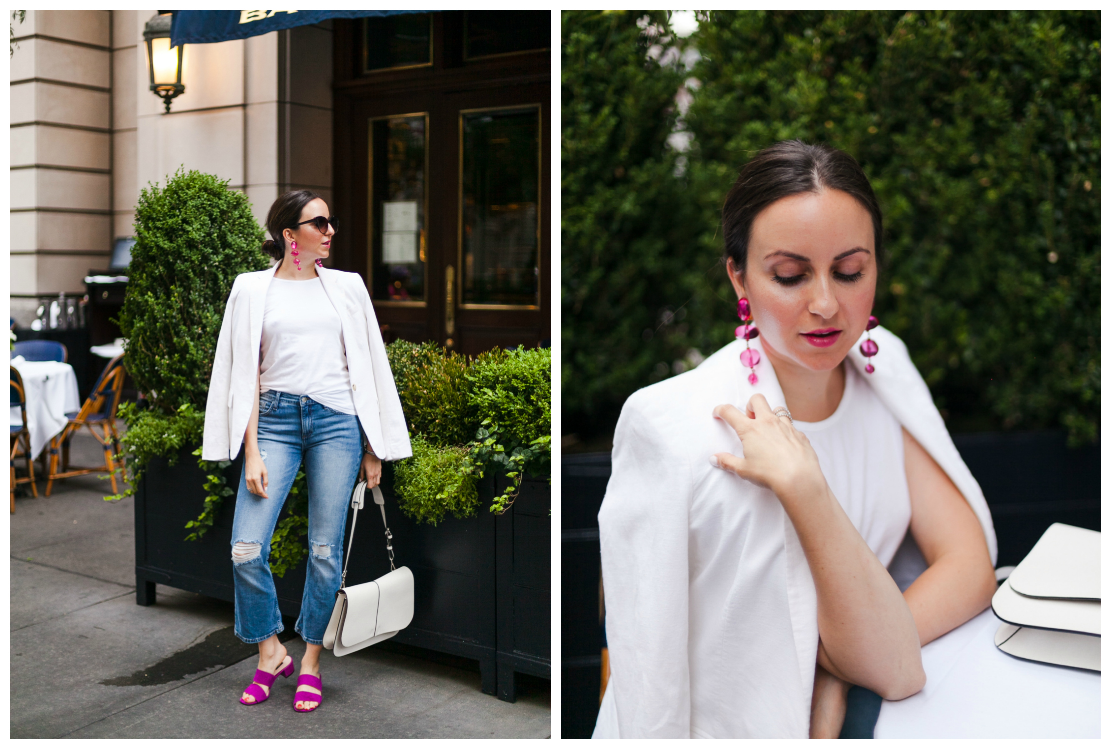 How to Style Denim in June
