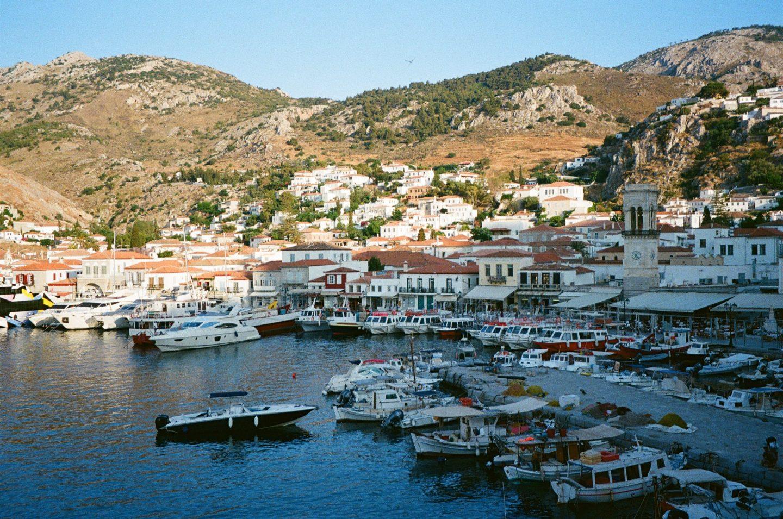 greece hydra island