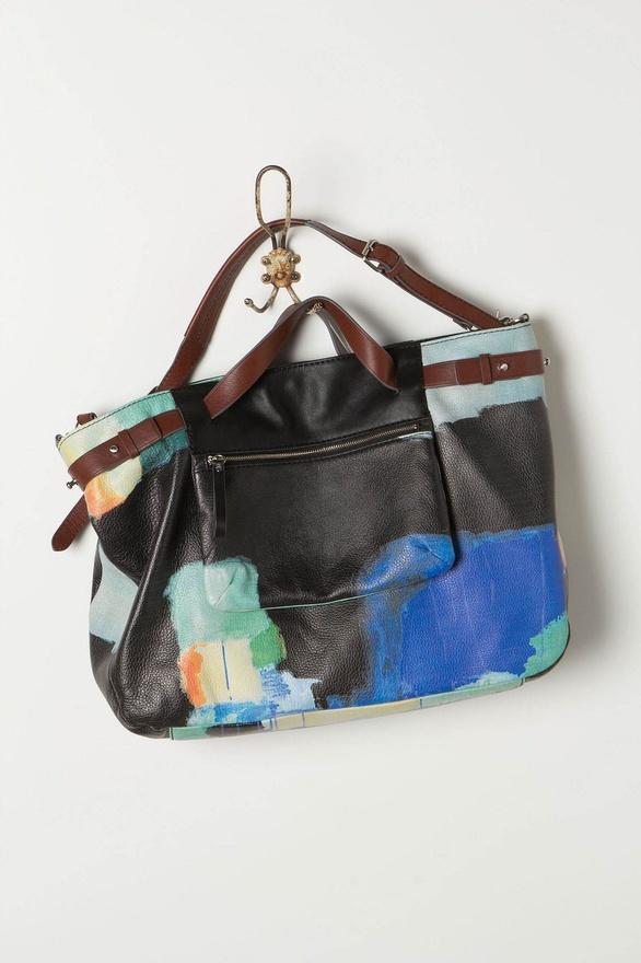 Nomad Luxuries photo of Watercolour Weekender bag.