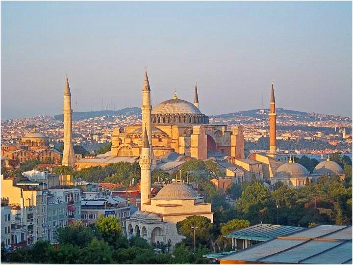 Nomad Luxuries wide view image of Agia Sofya