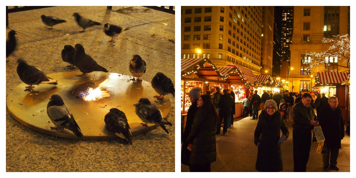 Nomad Luxuries busy streets of Chicago during  Christkindlmarket