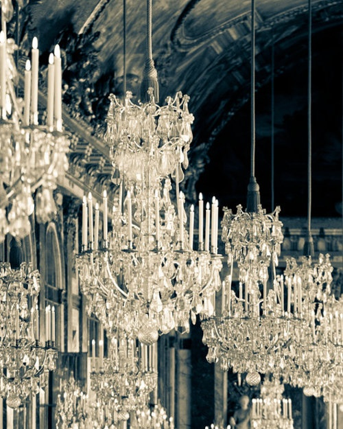 Nomad Luxuries; towering traditional crystal chandeliers lighting up the new year.