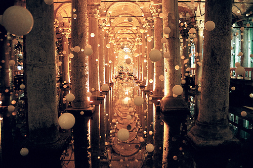Nomad Luxuries image of the Bascilia Cistern from All Things Europe.