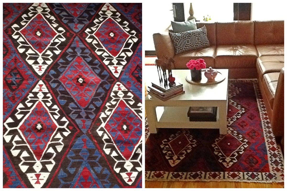 Nomad Luxuries photo collage of interior decorum of Istanbul apartment.
